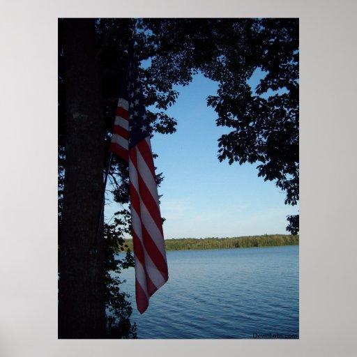 Lago patriot posters