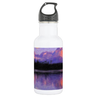 Lago Pehoe in Torres del Paine, Chile.jpg Stainless Steel Water Bottle