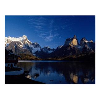 Lago Pehoe, parque nacional de Torres del Paine, Tarjeta Postal