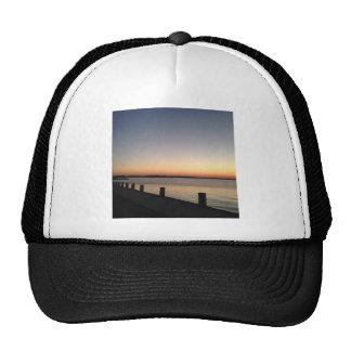 Lago perfecto sunset de la imagen gorras