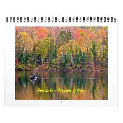 Lago pine - reino del calendario de Oma