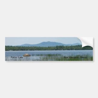 Lago porter … pegatina de parachoque