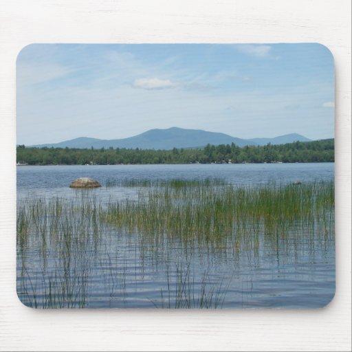 Lago porter, nuevo viñedo, Maine Mousepad Alfombrilla De Ratones