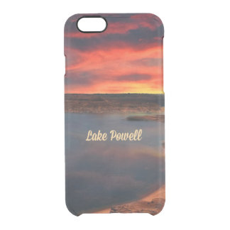 Lago Powell, Arizona Funda Clearly™ Deflector Para iPhone 6 De Uncommon