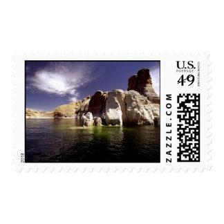 Lago Powell, barranco de la ranura de Utah Sello