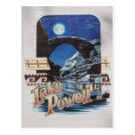 Lago Powell Moonlite escénico Postal