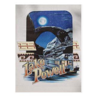 Lago Powell Moonlite escénico Tarjetas Postales