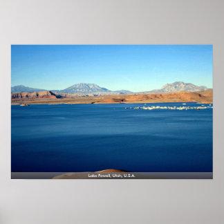 Lago Powell, Utah, los E.E.U.U. Posters