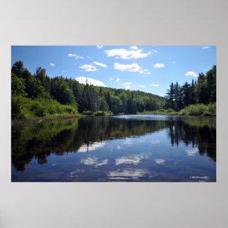 Lago Raquette en el Adirondacks. impresión 08 302 Impresiones
