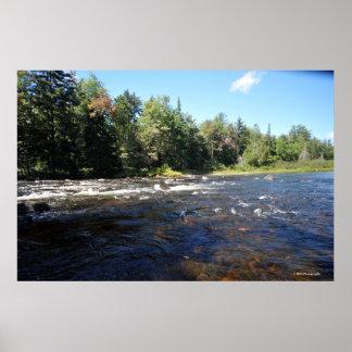 Lago Raquette en la impresión 08 259 de Adirondack Posters
