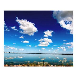 Lago reflector foto