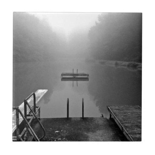 Lago reservado azulejo
