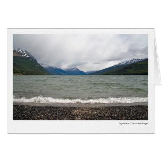 Lago Roca, Tierra del Fuego Card