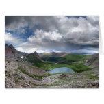 Lago rock - desierto de Weminuche - Colorado Tarjetas