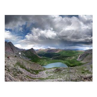 Lago rock - desierto de Weminuche - Colorado Tarjeta Postal