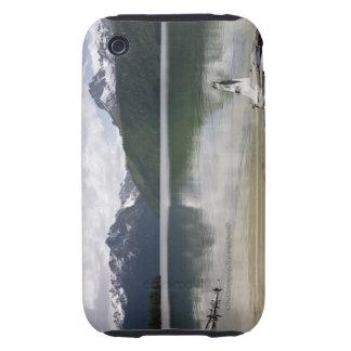 Lago rojo Idaho fish iPhone 3 Tough Coberturas