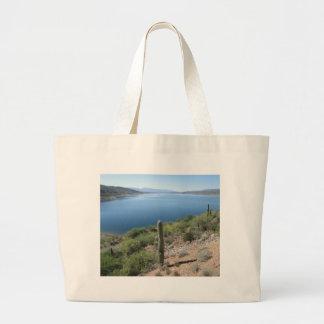 Lago roosevelt bolsa tela grande