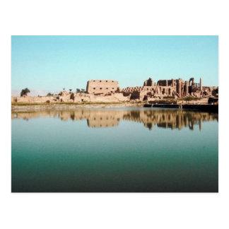 Lago sagrado, Karnak Eygpt Postal