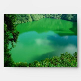 Lago santiago sobre