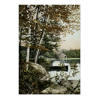 Lago Saranac, Nueva York Póster