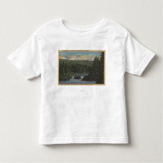 Lago Scotts, Oregon - opinión tres hermanas Camisas
