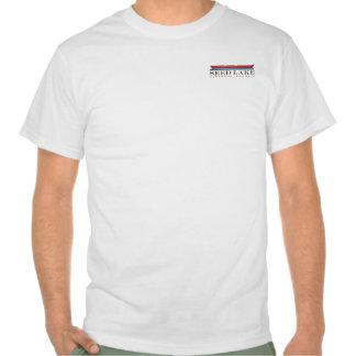 Lago seed - frente/pequeña canoa, parte posterior/ camisetas