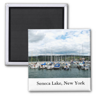 Lago Seneca Imán Cuadrado