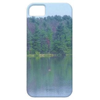 Lago sereno iPhone 5 Case-Mate funda
