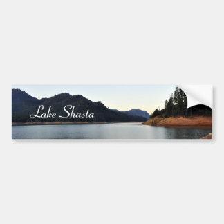 Lago Shasta Etiqueta De Parachoque