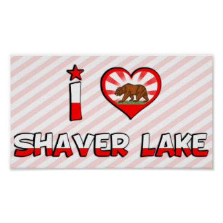 Lago shaver, CA Impresiones