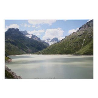 Lago Silvretta Austria Posters