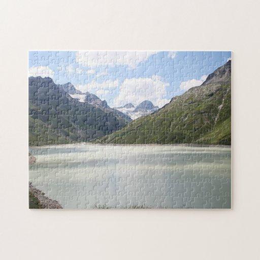Lago Silvretta - Austria Rompecabezas Con Fotos