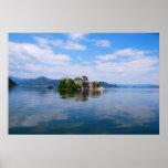 Lago Skadar en el poster de Montenegro