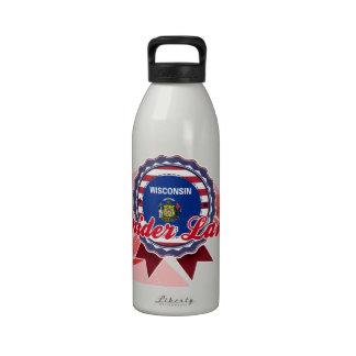 Lago spider, WI Botella De Agua Reutilizable