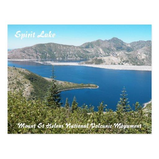 Lago spirit del Monte Saint Helens Postal