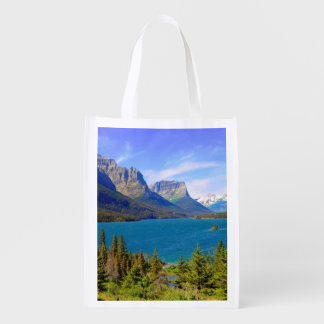 Lago st. Mary, Parque Nacional Glacier, Montana Bolsas Para La Compra