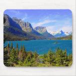 Lago st. Mary, Parque Nacional Glacier, Montana Alfombrilla De Ratones
