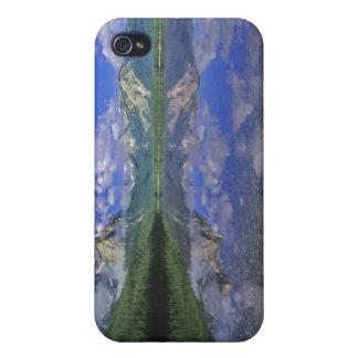 Lago stanley en las montañas del diente de sierra  iPhone 4 funda