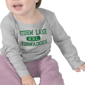 Lago storm - tornados - alto - lago Iowa storm Camiseta