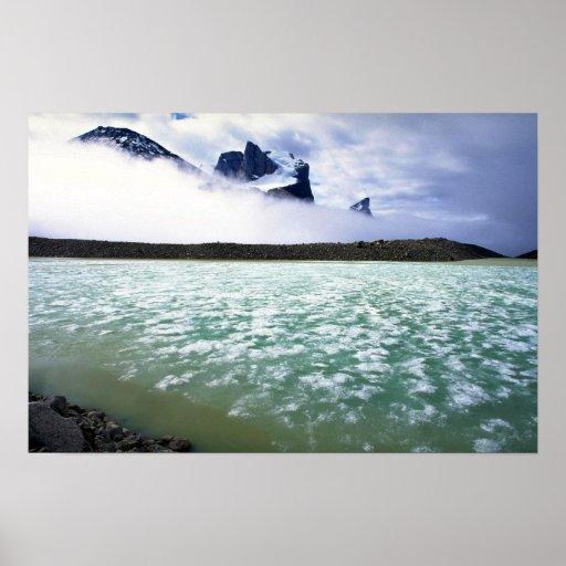 Lago summit y pico de Breidablik, isla de Baffin,  Impresiones