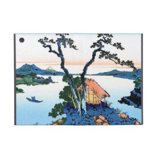 Lago Suwa en la provincia de Shinano Hokusai iPad Mini Coberturas