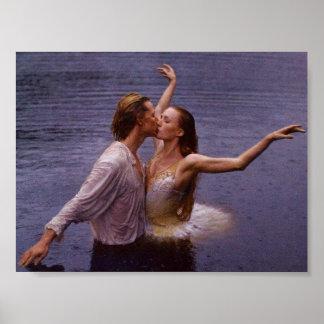 Lago swan poster