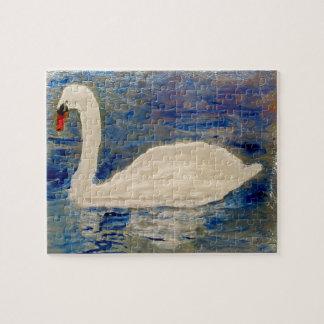 Lago swan rompecabeza