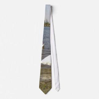 Lago swans corbatas personalizadas