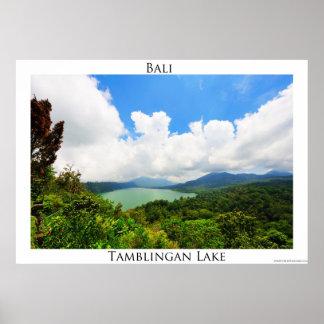 Lago Tamblingan Póster