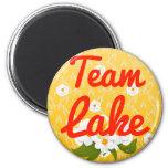 Lago team imán de frigorifico