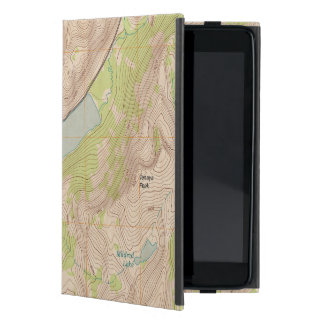 Lago Tenaya, mapa topográfico de Yosemite iPad Mini Fundas