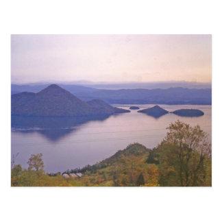 Lago Toya, Hokkaido, Japón Tarjetas Postales