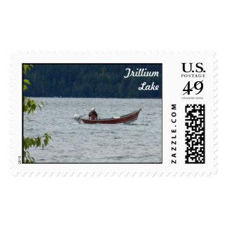 Lago Trillium, Oregon Franqueo