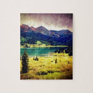 Lago trout puzzle con fotos